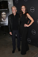 NEW YORK, NY - NOVEMBER 30: Catherine Zeta-Jones and Michael Douglas at  Cocaine Godmother: The Griselda Blanco Story Screening at NeueHouse Madison Square on November 30, 2017 in New York City. Credit: Diego Corredor/MediaPunch /NortePhoto NORTEPHOTOMEXICO