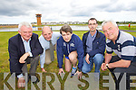 Pictured at the launch of the Kerry's Eye Tralee International Marathon, at the Tralee Bay Wetlands Centre on Tuesday, from left: Martin Fitzgerald (Chairperson Tralee Harriers), Brendan Kennelly (Sales & Marketing Director Kerry's Eye Newspaper), Marcus Howlett (Race Director Tralee Marathon), Michael Godley (Timekeeper Tralee Marathon) and Jim O'Gorman (Sports Editor Kerry's Eye Newspaper).