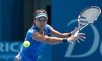 LI NA..Tennis - Apia Sydney International -  Sydney 2013 -  Olympic Park - Sydney - NSW - Australia.Tuesday 8th January  2013. .© AMN Images, 30, Cleveland Street, London, W1T 4JD.Tel - +44 20 7907 6387.mfrey@advantagemedianet.com.www.amnimages.photoshelter.com.www.advantagemedianet.com.www.tennishead.net