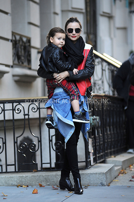 WWW.ACEPIXS.COM<br /> November 16, 2013...New York City<br /> <br /> Miranda Kerr and Flynn Bloom out and about in Manhattan New York City on November 16, 2013.<br /> <br /> <br /> Byline: Kristin Callahan/Ace Pictures<br /> <br /> ACE Pictures, Inc.<br /> tel: 646 769 0430<br />       212 243 8787<br /> e-mail: info@acepixs.com<br /> web: http://www.acepixs.com
