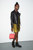 Leomie Anderson<br /> at the Ashish catwalk show as part of London Fashion Week SS17, Brewer Street Car Park, Soho London<br /> <br /> <br /> &copy;Ash Knotek  D3155  19/09/2016
