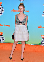 LOS ANGELES, CA. March 23, 2019: Kiernan Shipka at Nickelodeon's Kids' Choice Awards 2019 at USC's Galen Center.<br /> Picture: Paul Smith/Featureflash