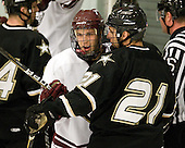 Jeremy Price (Colgate - 20), Andy Starczewski (Army - 21) - The host Colgate University Raiders defeated the Army Black Knights 3-1 in the first Cape Cod Classic at the Hyannis Youth and Community Center in Hyannis, MA.