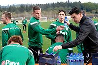 SOTOGRANDE  - Voetbal, Trainingskamp FC Groningen, seizoen 2017-2018, 09-01-2018,  FC Groningen speler Samir Memisevic