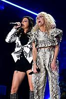 07 June 2019 - Nashville, Tennessee - Karen Fairchild, Kimberly Schlapman, Little Big Town. 2019 CMA Music Fest Nightly Concert held at Nissan Stadium. <br /> CAP/ADM/DMF<br /> ©DMF/ADM/Capital Pictures