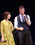 Carmen Cusack and Paul Alexander Nolan  on stage during 'Bright Star' In Concert at Town Hall on December 12, 2016 in New York City.