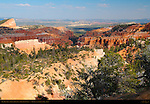Boat Mesa View, Sinking Ship Mesa, Fairyland Canyon and Paria River Valley, Bryce Canyon National Park, Utah