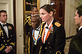 Musician Buddy Guy arrives at the Kennedy Center Honors reception at the White House on December 2, 2012 in Washington, DC. The Kennedy Center Honors recognized seven individuals - Buddy Guy, Dustin Hoffman, David Letterman, Natalia Makarova, John Paul Jones, Jimmy Page, and Robert Plant - for their lifetime contributions to American culture through the performing arts. .Credit: Brendan Hoffman / Pool via CNP