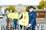 At the launch of the Kerry Joint Policing Committee 'Be Safe, Be Safe' campaign on Monday at KCC were, front John Breen, Director of Services, Kerry County Council, Chief Superintendent Con Cadogan, Back l-r  Michelle Mullane, Road Safety Officer, Kerry County County Council, Brian Looney, Kerry County Council, Cllr Niall Kelleher, Chairman, Kerry Joint Policing Committee, Cllr Pa Daly, Kerry Joint Policing Committee