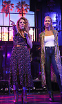"""Kristin Hanggi and Kelly Devine during the tech rehearsal for """"Rock of Ages"""" 10th Anniversary Production on June 13, 2019 at the New World Stages in New York City."""
