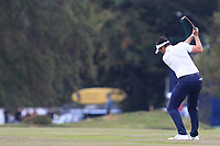 Mike Lorenzo-Vera (FRA) on the 13th fairway during Round 3 of the Sky Sports British Masters at Walton Heath Golf Club in Tadworth, Surrey, England on Saturday 13th Oct 2018.<br /> Picture:  Thos Caffrey | Golffile