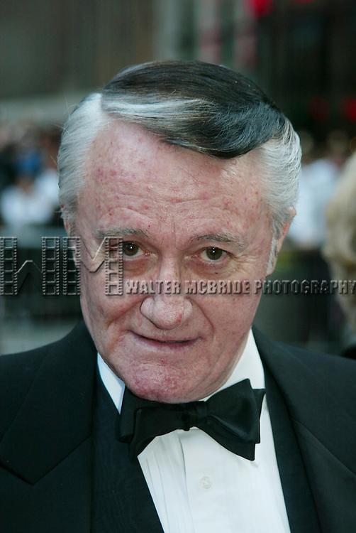 Robert Vaughn attends NBC's 75th Anniversary<br />Rockefeller Center, New York City on May 5, 2002