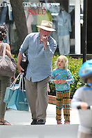 Nick Nolte and daughter Sophie in Malibu
