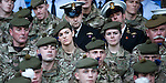 Troops enjoying their day at Ibrox