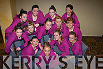REHEARSING: practing their steps for the Disco Championships in the Brandon Hotel Tralee on Sunday were Sheba senior dancers....................................................... ............................................................   Copyright Kerry's Eye 2008