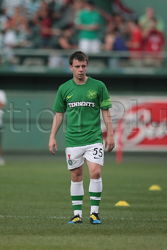21 JUL 2010:  Celtic's Paul McGowan (55). Celtic defeated  Sporting Clube de Portugal 6-5 on penalty kicks in an international friendly match, part of the Fenway Football Challenge, at Fenway Park in Boston, Massachusetts on July 21, 2010.
