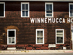 Remnants of the historic Winnemucca Hotel, Winnemucca, Nev., now under demolition.