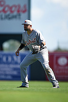 Detroit Tigers third baseman Nick Castellanos (9) during a Spring Training game against the Baltimore Orioles on March 4, 2015 at Ed Smith Stadium in Sarasota, Florida.  Detroit defeated Baltimore 5-4.  (Mike Janes/Four Seam Images)