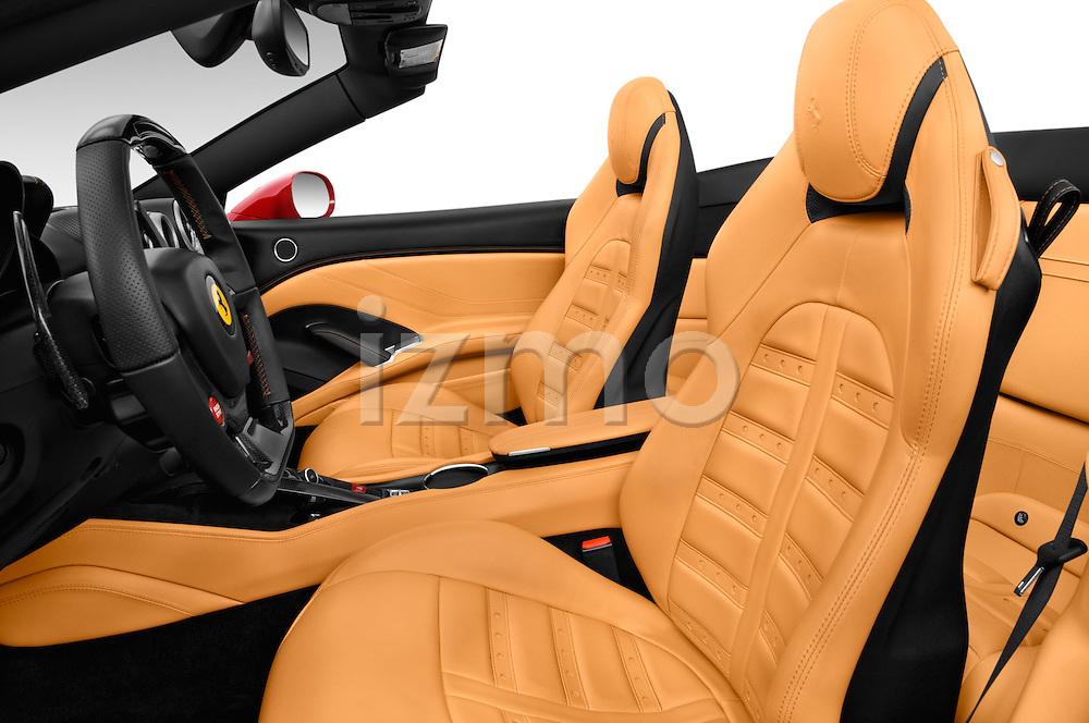 Front seat view of 2015 Ferrari California T 2 Door Convertible Front Seat car photos