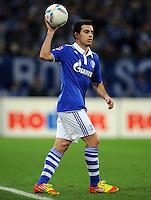 FUSSBALL   1. BUNDESLIGA   SAISON 2011/2012    15. SPIELTAG FC Schalke 04 - FC Augsburg            04.12.2011 Jose Manuel Jurado (FC Schalke 04)