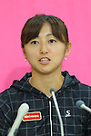 Misaki Doi (JPN), <br /> JULY 13, 2016 - Tennis : <br /> A press conference <br /> for Rio Olympic Games in Tokyo, Japan. <br /> (Photo by YUTAKA/AFLO SPORT)