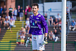 V&auml;llingby 2013-07-06 Fotboll Allsvenskan , IF Brommapojkarna - Kalmar FF :  <br /> Kalmar m&aring;lvakt 99 Etrit Berisha reagerar<br /> (Foto: Kenta J&ouml;nsson ) Nyckelord:  portr&auml;tt portrait