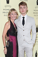 Kate Mosse and son Felix arriving for the Baileys Women's Prize for Fiction Awards, at the Royal Festival Hall, London. 04/06/2014 Picture by: Alexandra Glen / Featureflash