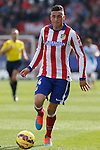 Atletico de Madrid´s Gimenez during 2014-15 La Liga match between Atletico de Madrid and Deportivo de la Coruña at Vicente Calderon stadium in Madrid, Spain. November 30, 2014. (ALTERPHOTOS/Victor Blanco)