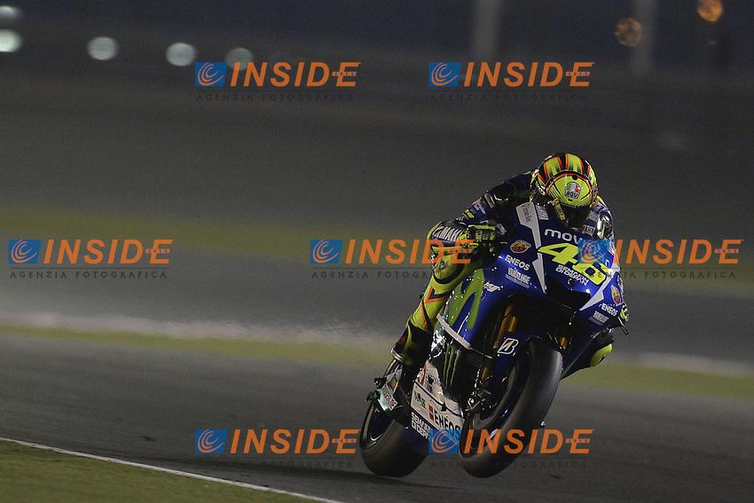 Lg Losail (Qatar) 28/03/2015 - qualifiche Moto GP / foto Luca Gambuti/Image Sport/Insidefoto<br /> nella foto: Valentino Rossi