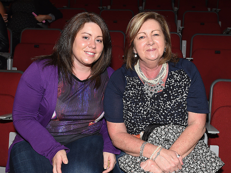 Melanie and Yvonne farrell pictured at the Drogheda Town FC dance show in the TLT. Photo:Colin Bell/pressphotos.ie