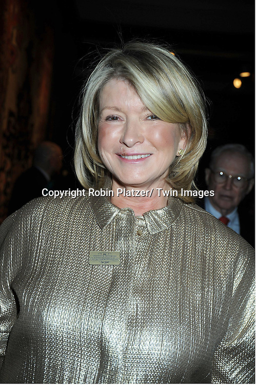 Martha Stewart attending The 2011 Winter Antiques Show Opening Night on January 20, 2011 at The Park Avenue Armory in New York City. .