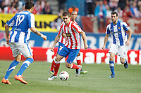 02.05.2012 SPAIN -  La Liga matchday 20th  match played between Atletico de Madrid vs Real Sociedadl (1-1) at Vicente Calderon stadium. The picture show Gabriel Fernandez Arenas (Spanish midfielder of At. Madrid)