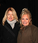 Cynthia Watros and Tina Sloan star in Breathing Under Dirt - A New Play by Guiding Light's Michael O'Leary and directed by Larry Moss with an industry reading on January 24, 2017 at Cherry Lane Theater, New York City, New York. Starring Cynthia Watros, Tina Sloan, Robert Bogue, Alana Troxell, Katie Branden and Kisha Jackson. (Photo by Sue Coflin/Max Photos)