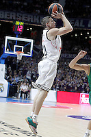 Real Madrid's Jaycee Carroll during Euroleague match.January 22,2015. (ALTERPHOTOS/Acero) /NortePhoto<br />