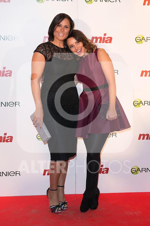 "Rosa Lopez and Chenoa attends the charity Awards ""MIA, CUIDA DE TI"" in Madrid, Spain. October 29, 2014. (ALTERPHOTOS/Carlos Dafonte)"