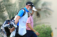 Minkyu Kim (KOR) during round 2, Ras Al Khaimah Challenge Tour Grand Final played at Al Hamra Golf Club, Ras Al Khaimah, UAE. 01/11/2018<br /> Picture: Golffile | Phil Inglis<br /> <br /> All photo usage must carry mandatory copyright credit (&copy; Golffile | Phil Inglis)