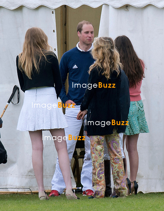 PRINCE WILLIAM<br /> attracts female attention<br /> With Kate Middleton deciding not to attend the Charity Polo Match as she is 8 months pregnant, there were girls on hand at the vying for Prince William's attention.<br /> Prince William and brother Prince Harry participated in the match at the Beaufort Polo Club_16/06/2013