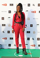 Celebrities attend 'Break', the first ever UK Drive-In Film Premiere at Brent Cross. The film will be rolled out nationwide in other drive-in venues. Brent Cross, North London on July 22nd 2020<br /> <br /> Photo by Keith Mayhew