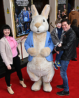 Dianne Pilkington and Neil Roberts  attend press performance of Where Is Peter Rabbit? musical following the beloved character Peter Rabbit and his friends in a story based on Beatrix Potter's magical world, at Theatre Royal Haymarket<br /> CAP/JOR<br /> &copy;JOR/Capital Pictures