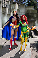 Keri Lord as Wonder Woman and Drusilla Stinson, Emerald City Comicon, Seattle, WA, USA.