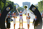 Teejay Van Garderen (USA) BMC Racing Team wins the White young rider's Jersey at the end of stage 20 running from Rambouillet to Paris Champs-Elysees during the 99th edition of the Tour de  France, 22nd July 2012 (Photo by Prevost/L'Equipe/NEWSFILE)