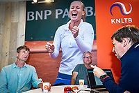 Den Bosch, Netherlands, 12 June, 2018, Tennis, Libema Open, KNLTB, In Gesprek Met en KNLTB<br /> Photo: Henk Koster/tennisimages.com