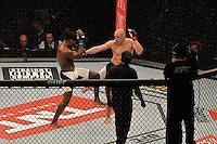 RIO DE JANEIRO, RJ, 01.08.2015 - UFC-RJ - O lutador Vitor Miranda vence Clint Hester no UFC 190: Rousey vs. Correia, na HSBC Arena, na zona oeste, neste sábado (01).(Foto: João Mattos / Brazil Photo Press)
