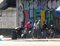 SAO PAULO, SP, 04 Janeiro 2012.Cracolandia Policia Militar  (FOTO: ADRIANO LIMA - NEWS FREE)