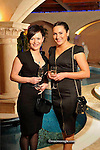 Justyna Krawczy and Iwona Sanczuk Killarney pictured  at The Cloisters Spa in The Muckross Park Hotel, Killarney first open evening of 2012 this week..Picture by Don MacMonagle...The evening was hosted by new General Manager, Sean O'Driscoll and Cloisters Spa Manager, Dawn Fitzell. Over 250 guests attended the opening evening to hear Sophie Hendron, from the Exclusive Spa Brand Aromatherapy Associates speak on how the Essential Oils are used in the Spa experience to provide for guests physical & emotional wellbeing. Aromatherapy Associates is an exclusive brand found in 5* hotels throughout 30 countries, including both The Ritz & The Dorchester Hotels in London. Cloisters Spa at Muckross Park Hotel is the only Spa in Munster to stock Aromatherapy Associates Products and all the therapists at Cloisters Spa have undergone intensive training in treatments with Aromatherapy Associates.