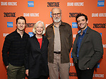 "Ben McKenzie, Jane Alexander, James Cromwell and Michael Urie during the Second Stage Theater presents ""Grand Horizons"" at the Marquis Hotel on December 11, 2019 in New York City."