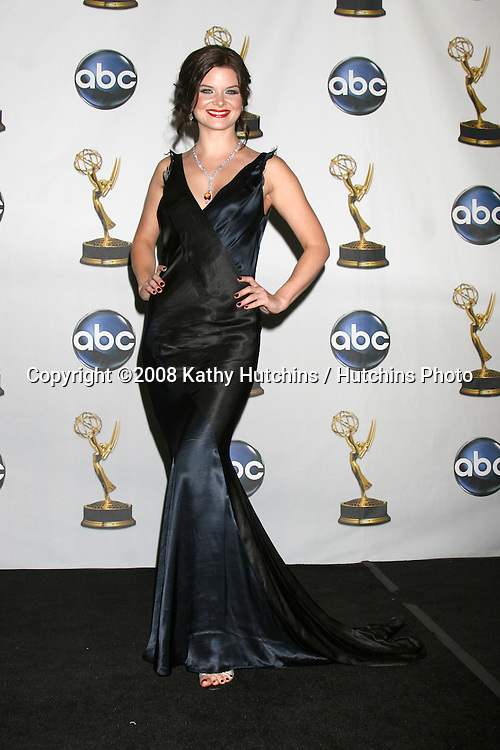 Heather Tom  in the Press Rom after presenting  at the Daytime Emmys 2008 at the Kodak Theater in Hollywood, CA on.June 20, 2008.©2008 Kathy Hutchins / Hutchins Photo .