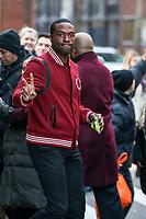 NOVA YORK, EUA, 19.12.2018 - CELEBRIDADES-EUA - O ator americano Yahya Abdul-Mateen II é visto no centro de Manhattan, na cidade de Nova York, Estados Unidos, nesta quarta-feira, 19. (Foto: William Volcov/Brazil Photo Press)