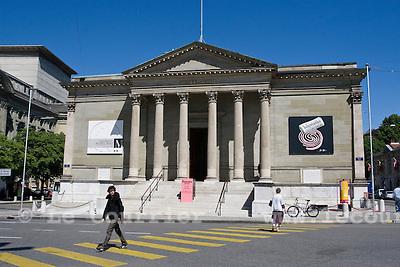 Genève, le 19.05.2009.Place neuve, musée rath..© Le Courrier / J.-P. Di Silvestro