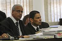 GUARULHOS , SP, 11 MARÇO 2013 -  MIzael Bispo no plenario, durante o primeiro dia de seu julgamento, nesta segunda-feira,11. (FOTO: ADRIANO LIMA / BRAZIL PHOTO PRESS).